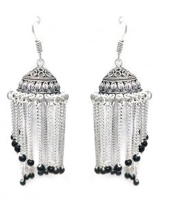 black-hanging-beads-german-silver-earrings2.jpg