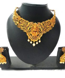 Temple-jewellery-set